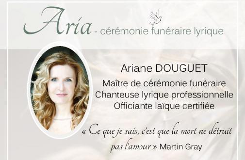 Aria - cérémonie funéraire lyrique